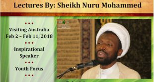 This Week at IHC – 22-01-2017 – Birthday of Bibi Zaynab A.S. on Friday 26th January at Jum'a prayers – Australia Day BBQ